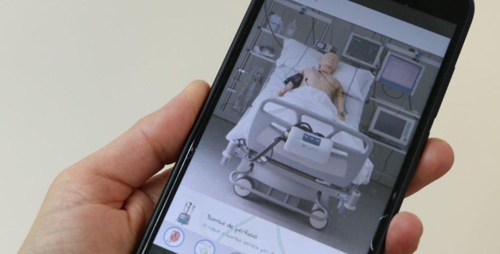 L'APP UCIKids mostra als infants com és una unitat de cures intensives